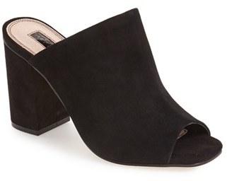 TopshopWomen's Topshop 'Rule' Block Heel Mule
