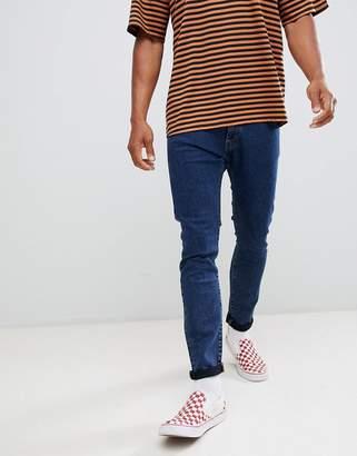 Wrangler Bryson Skinny Jeans Flanker Blue