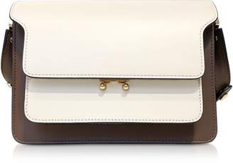 Marni Color Block Leather Trunk Bag
