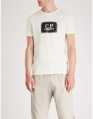 C.P. Company Stitch logo-print cotton-jersey T-shirt