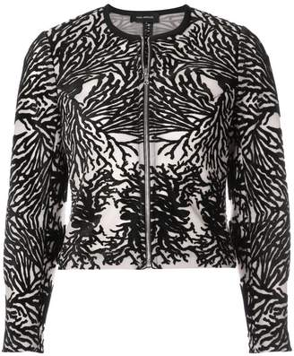 Yigal Azrouel coral reef burnout jacket