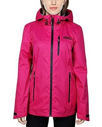 Outdoor Ventures Women's Creek Packable Breathable Waterproof Rain Jacket