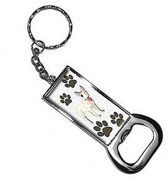 Nothing Specific Bull Terrier Of Awesomeness Keychain Key Chain Ring Bottle Bottlecap Opener