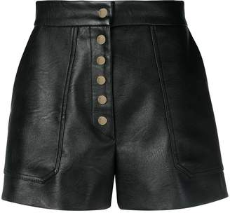 Stella McCartney high-rise buttoned shorts
