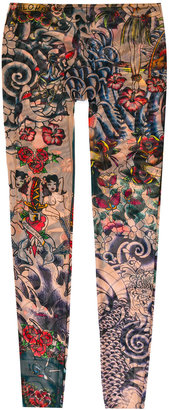 Dsquared2 Tattoo leggings $225 thestylecure.com