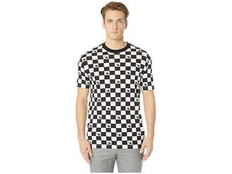 McQ Dropped Shoulder Checkerboard T-Shirt