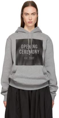 Opening Ceremony Grey Box Logo Hoodie