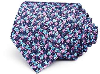 Bloomingdale's The Men's Store at Ditsy Floral Classic Tie - 100% Exclusive