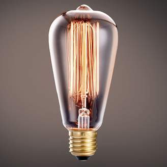 KiLi Life Vintage Edison Bulbs 40W/110V 6 Pack With Squirrel Cage Antique Style Design For Pendant Lighting, Wall Sconces, Ceiling Fan and Chandeliers