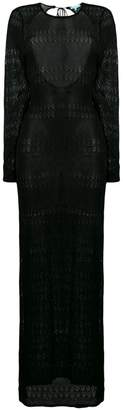 Melissa Odabash long knitted dress