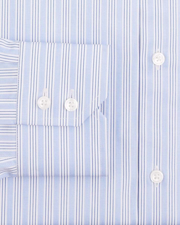 HUGO BOSS Gordon Triple Stripe Dress Shirt - Classic Fit