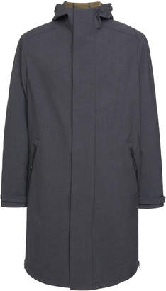 Prada Hooded Shell Raincoat