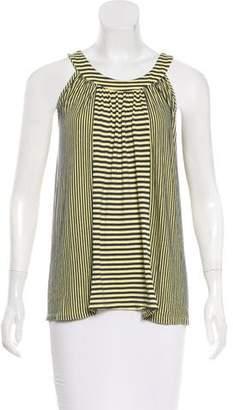 Ella Moss Sleeveless Striped Top