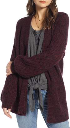 Treasure & Bond Chunky Knit Open Front Cardigan