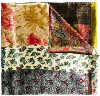 Pierre Louis Mascia Pierre-Louis Mascia printed velvet scarf