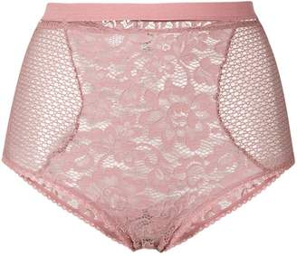 Else lace-embroidered briefs