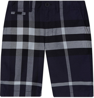 Burberry Tristen cotton shorts 4-14 years $95 thestylecure.com