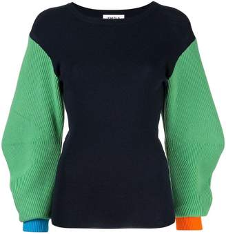 Enfold slim-fit knitted sweater