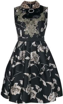 Antonio Marras bow detail floral dress