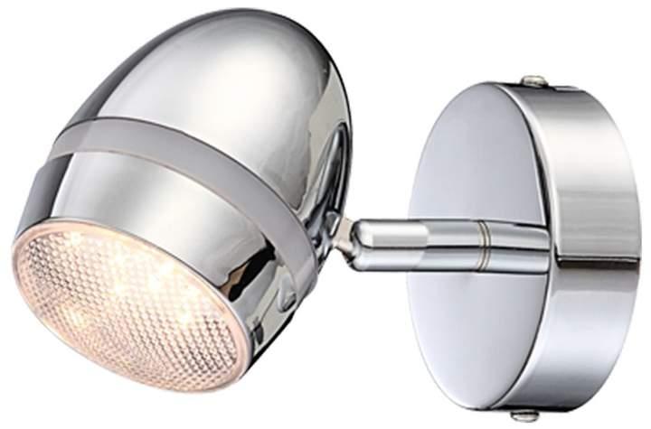 Globo Lighting EEK A+, LED-Strahler Manjola Metall Silber