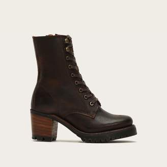 The Frye Company Sabrina Moto Lace Up