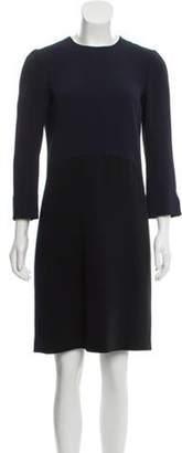 Narciso Rodriguez Colorblock Shift Dress Navy Colorblock Shift Dress