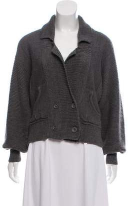 Rebecca Taylor Wool & Alpaca Blend Knit Cardigan
