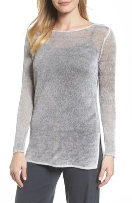 Nic+Zoe NIC + ZOE Poolside Linen Blend Sweater