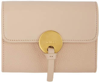 Chloé Pink Indy Compact Wallet