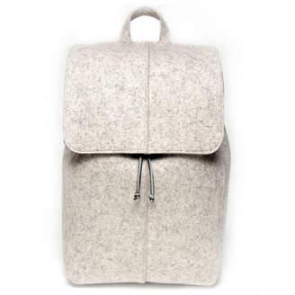 S+F Bermuda Sf Wool Felt Flap Backpack