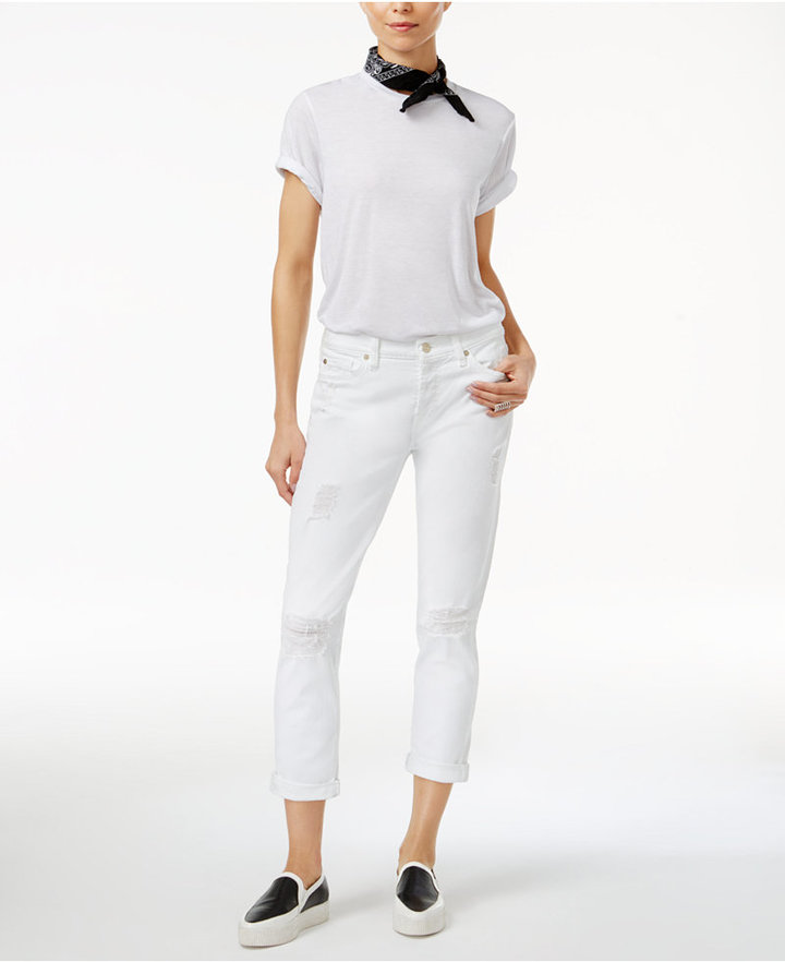 7 For All Mankind 7 For All Mankind Josephina Cropped Jeans