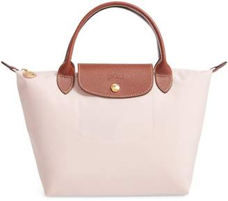 912722fe9746 Longchamp Pink Top Handle Handbags - ShopStyle