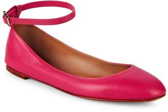 Valentino Classic Leather Ballet Flats