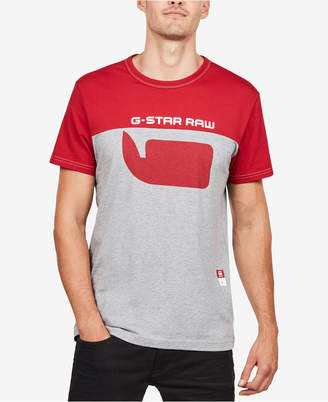 G Star Men's Colorblocked T-Shirt