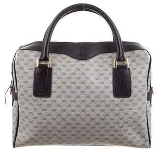 9ce45d53b88 Gucci Vintage Micro GG Plus Boston Bag