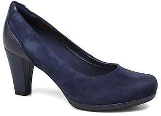 Clarks Women's Chorus Chic Rounded toe High Heels in Blue
