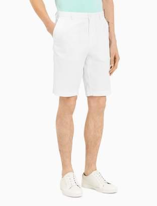 Calvin Klein slim fit cotton stretch walking shorts
