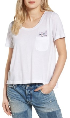 Women's Paul & Joe Sister Cat Pocket Tee