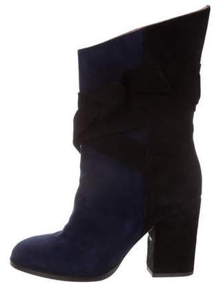 Alexa Wagner Suede Mid-Calf Boots
