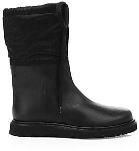 Aquatalia Women's Camillia Shearling-Lined Leather Boots