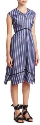 Proenza Schouler Stripe Cotton Dress
