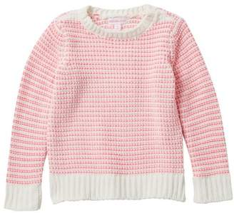 Design History Striped Chenile Sweater (Little Girls)