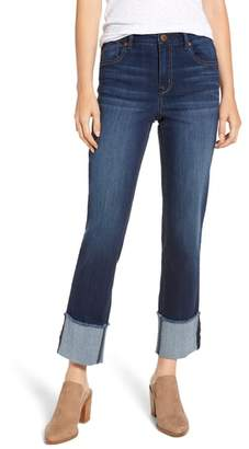 1822 Denim Cuffed Straight Leg Jeans