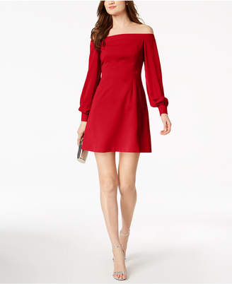 Jill Stuart Off-The-Shoulder A-Line Dress, Created for Macy's