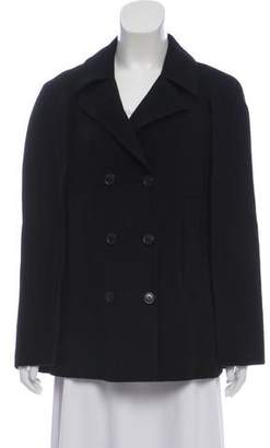 ac47f32424 Theory Wool and Cashmere Cape Coat