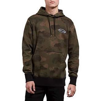 Volcom Men's Shop Stone Pullover Hooded Fleece Sweatshirt