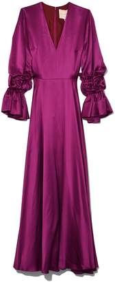 Roksanda Lavonne Dress in Fuschia