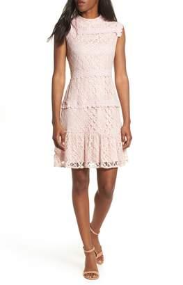 Julia Jordan Lace Sheath Dress