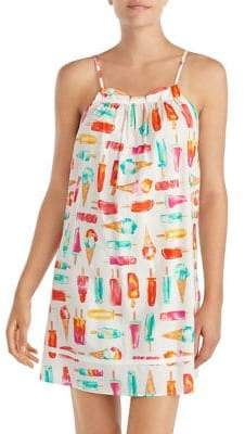 Kate Spade Printed Sleeveless Chemise