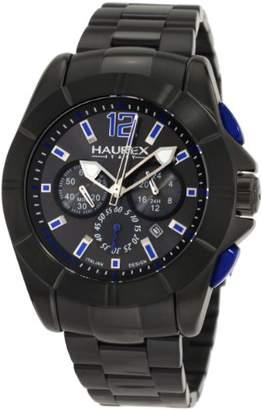 Haurex Italy Men's 0N366UNB Aston Chronograph Stainless Steel Watch